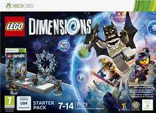 Lego dimensiones Starter Pack Xbox 360 Juego-Nuevo y Sellado