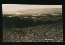 Devon CROYDE General view used 1931 RP PPC Chapman #16145