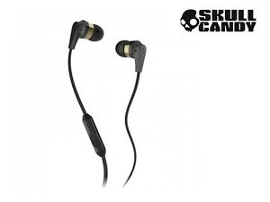 Skullcandy INK'D 2 Earphones Headphones with MIC for iPod iPhone Android B/G.
