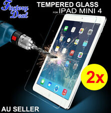 2x Tempered Glass Screen Protector for IPAD MINI 4 Anti-scatch