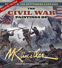 Signed! The Civil War Paintings of Mort Kunstler: Vol. 3: Gettysburg Campaign