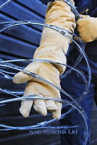 Razor Wire Gauntlets Gloves Protection Barbed Wire Wall Spikes