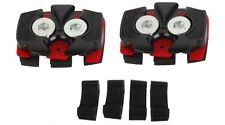 Look S-track DCS Cycling MTB Cleats Easy Cleat Pedals for All Types of Soles