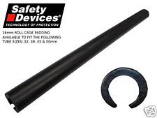 Safety Devices Roll Cage Black Padding fits 38 ,40 ,45 & 50mm Tube