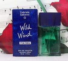 Wild Wind For Men edt spray 1.7 Oz. By Gabriela Sabatini. NIB