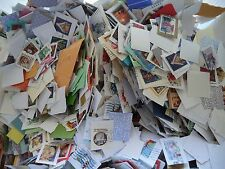 1 pound US Christmas postage stamps on paper Decoupage FOREVER BULK 15-16oz
