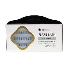BL Lashes Flare Lash Knot Free Length 9 Cluster Lashes Eyelash Extension