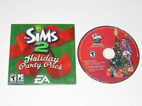 The Sims 2 Holiday Party Pack PC Game Expansion 2005 Rare