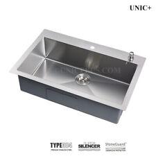 "Top-Mount 30"" small-radius Corners Single bowl Kitchen / Laundry Sink. KTR3021"