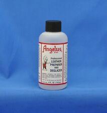 Angelus Leather Dye Preparer & Deglazer - 4 FL. OZ.- NEW