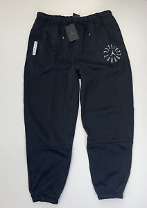 Nike Air Jordan AJ11 Fleece Sweat Pants Size Small Men DD0390-010 A16