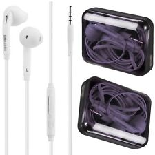 Buy 1 Get 1 Free For Samsung Galaxy Handsfree Headset Earphones 3.5mm With Mic.