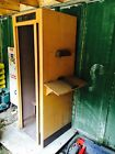 C & P Telephone Phone Booth built by Bell South with Bell System Light Fixture