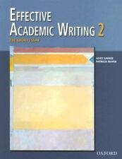 NEW - Effective Academic Writing 2: The Short Essay (Student Book) (v. 2)