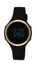 Moulin Ladies Digital Jelly Watch Dark Screen Black #03158-77476