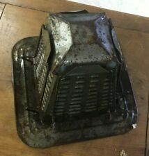 VINTAGE PRIMITIVE PYRAMID 4-SLICE STOVE TOP METAL CAMPING TOASTER