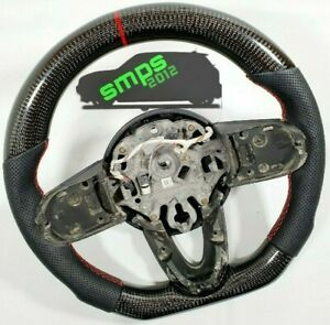 Gen 3 F56 Mini Real Carbon Fibre & Perforated Leather Steering Wheel MANUAL