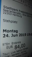 TAKE THAT HAMBURG 24.06.2019 STEHPLATZ TICKETS KARTEN EINTRITTSKARTEN