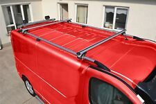 Per adattarsi 02 - 14 Opel Vauxhall Vivaro Lwb Barre Portapacchi in alluminio bar + barre trasversali
