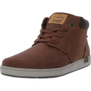 Levi's Bedford Men's Tumbled Faux Leather High Top Sneakers