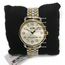 PRICE DROP! Coach Women's Delancey Two-Tone Bracelet Watch 36MM COD/Credit Card