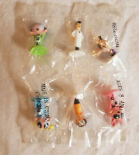 NIP RARE Powerpuff Girls Collectible Figures Mini figs Power Puff game peices