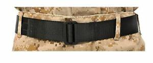 MCMAP Marine Corps USMC Martial Arts Military Riggers Belt BLACK 40 inch Medium