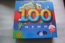 Alexander, gry logiczne 100 gier, zestaw  - BIERKI, DOMINO I WIELE INNYCH