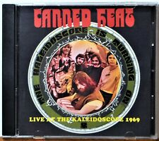 CD Canned Heat Live at the Kaleidoscope 1969 Rare Blues  NICE Extras Ship Free