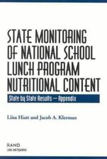 State Monitoring of National School Lunch Program Nutritional Content:-ExLibrary