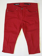 JORDACHE {Size 8} Skinny Crop Red Jeans EXCELLENT!