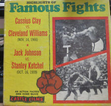 HIGHLIGHTS OF FAMOUS FIGHTS - CLAY vs. WILLIAMS - JOHNSON vs. KETCHEL