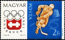 HUNGARY -1963- INNSBRUCK WINTER OLYMPIC 1964 GAMES - ICE-HOCKEY - MNH - Sc.#1553