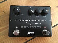 MXR MC-402 Custom Audio Electronics Boost Overdrive Guitar Effects Pedal