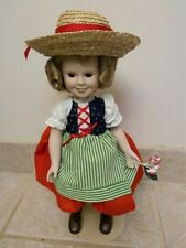 Shirley Temple Doll The Danbury Mint Dolls of the Silver Screen Heidi 14""