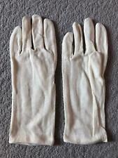 White Cotton Gloves Soft Moisturizing Waiter Magician Eczema Liner