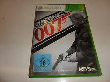 XBox 360  James Bond: Blood Stone 007
