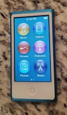 Nice Apple iPod Nano 7th Generation 16 GB Blue A1446