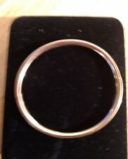 14K REAL GOLD CHILD/BABY BANGLE BRACELET 5.5""