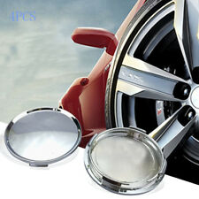 4Pcs 63mm Universal Car Vehicle Tire Wheel Center Hub Caps Cover Silver Tone