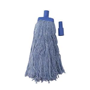 Commercial Mop Head BLUE Heavy Duty Mop Refill 450G