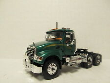 1ST GEAR 1/64 SCALE MACK GRANITE  DAY CAB  METALLIC GREEN  (SAME SCALE AS DCP)