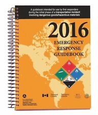 Labelmaster Reference Book, Safety and Dot, 2016 Emergency Response Guide,