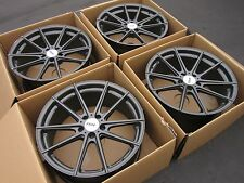 "19"" Audi TSW concave wheels S5 A5 S4 A4 Allroad oem 19 rotor titan"
