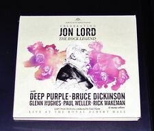 JON LORD DEEP PURPLE CELEBRANDO JON LORD THE ROCK LEGEND DOBLE CD