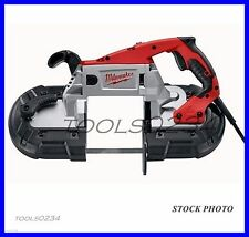 New Milwaukee 6238-21 Deep Cut Bandsaw AC/DC with Case Free Shipping