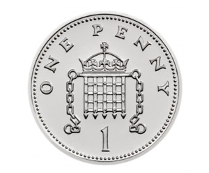 UK The Royal Birth 2018 Silver Penny Brilliant Uncirculated Coin The Royal Mint