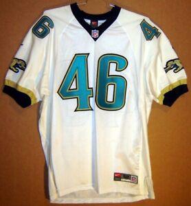 JACKSONVILLE JAGUARS #46 SULLIVAN WHITE MESH NFL JERSEY