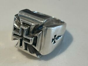 Heavy King Baby Studio Sterling Ring size 10