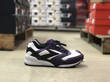 Brooks Heritage Mojo Mens Running Athletic White/Purple Shoes 1102401 Size 8.5